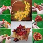 fall-leaf-rose-bouquet