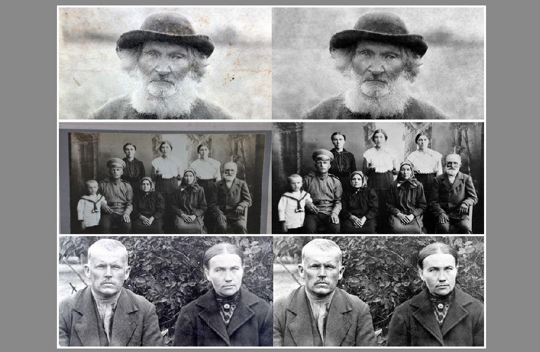 """Restaurētas fotogrāfijas grāmatai """"Jānis V. Kļaviņš zinātnē, mūzikā, dzīvē""""."""