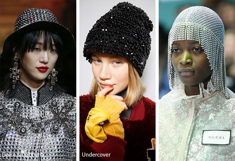 fall_winter_2018_2019_hats_headwear_trends_beaded_bejewelled_hats