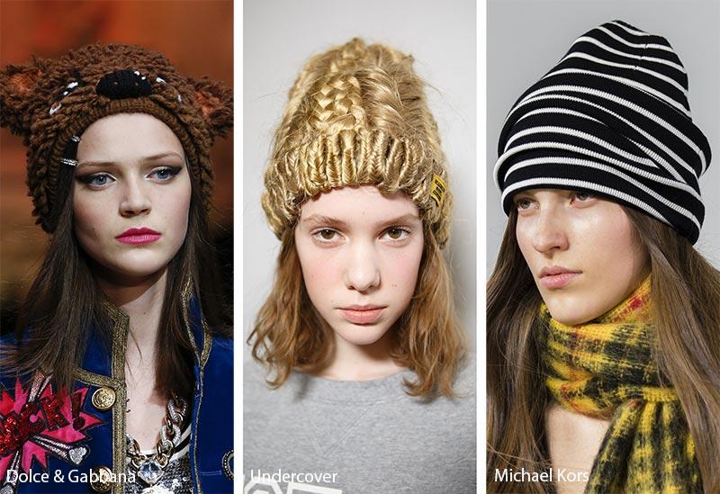fall_winter_2018_2019_hats_headwear_trends_knit_beanies1