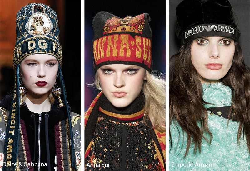 fall_winter_2018_2019_hats_headwear_trends_logo_printed_hats