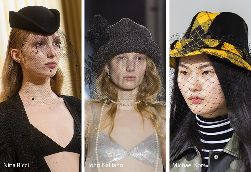 fall_winter_2018_2019_hats_headwear_trends_veiled_hats