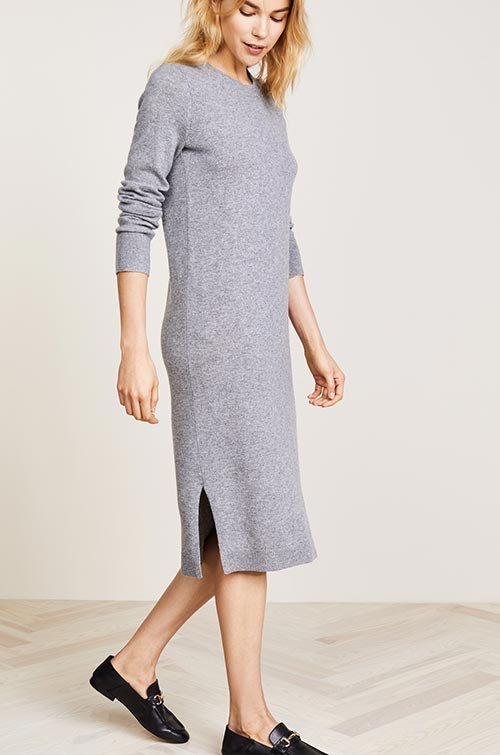 best_sweater_dresses_for_fall_winter_2017_2018_knit_dresses6
