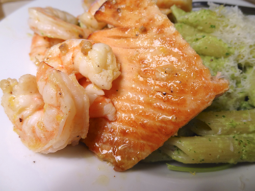 Lemon-Butter-Shrimp-and-Salmon